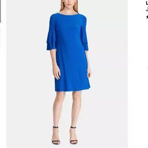 Lauren Ralph Lauren Jersey Ruffle-Sleeve Dress 12